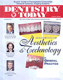 Dentistry Today Magazine cover