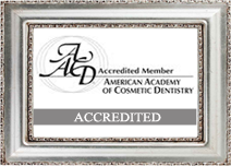 accreditation logo with the text 'accreditted' superimposed